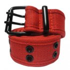 FC970 FABRIC BELT DOUBLE HOLE (RED)