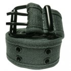 FC970 FABRIC BELT DOUBLE HOLE (GRAY)